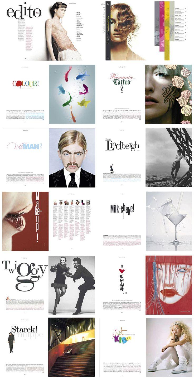 many magazine