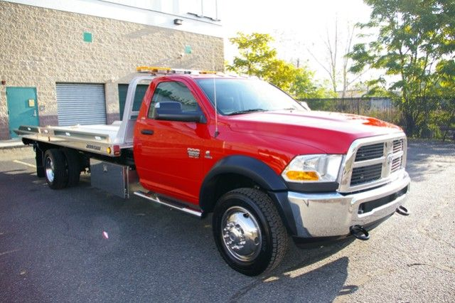 red Ford F-350 truck not lifted