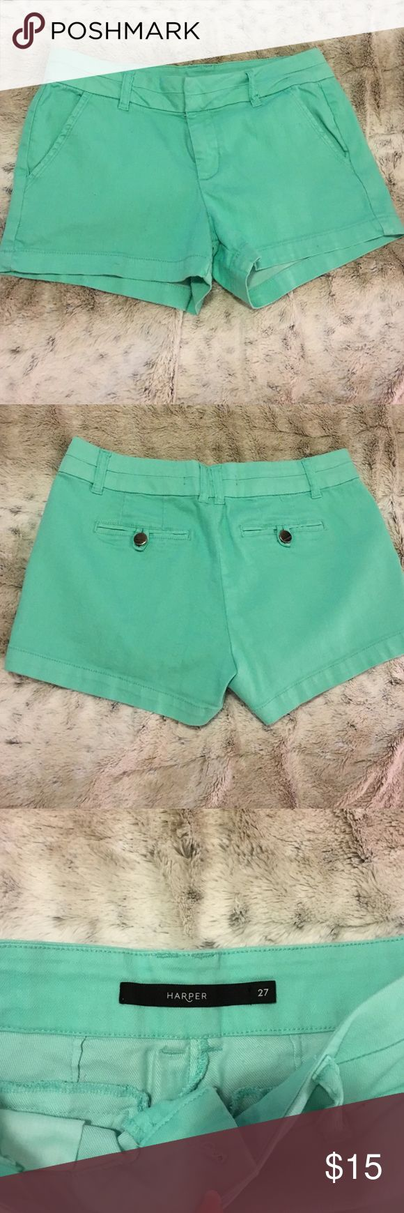 Teal Shorts from Francesca's Teal Shorts from Francesca's. Very gently worn with no stains or tears. Great length! They aren't very short. Francesca's Collections Shorts Jean Shorts