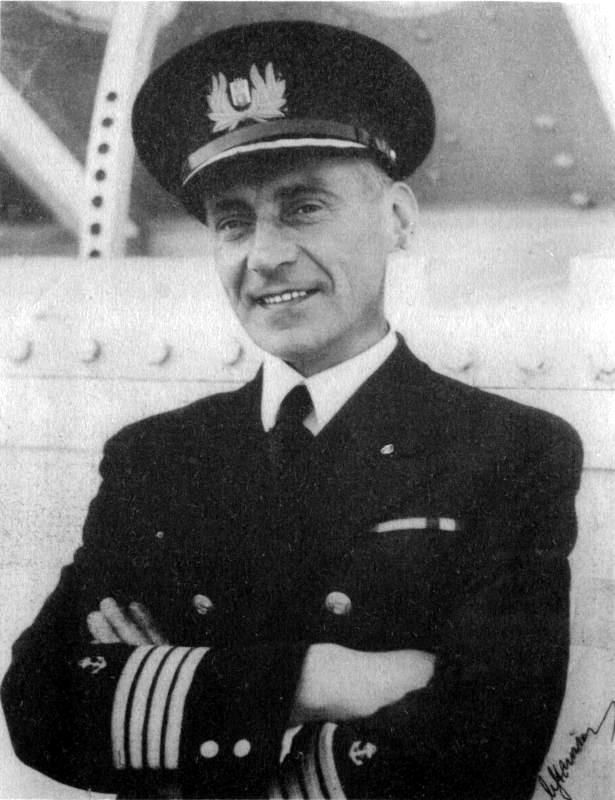 "Kapitan ""MS Piłsudski"" — Mamert Stankiewicz."