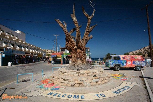 Creta: Matala e i figli dei fiori | Camperistas.com