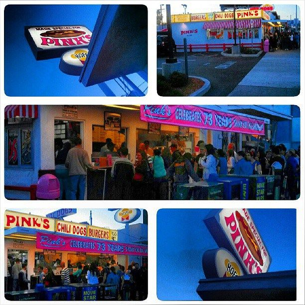 The Oldest Hot Dog Stand in LA... Pink's!