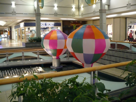 Westminster Mall Balloons Native American Israel