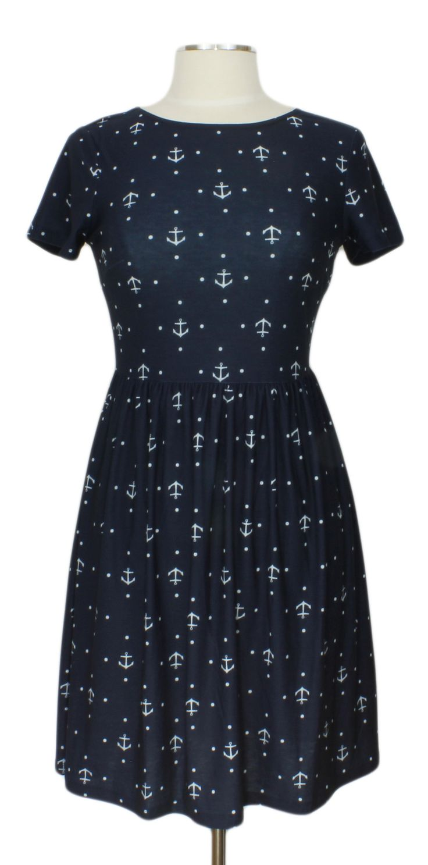 Good Ship Lollipop Dress @ Ever Rose #pinkmartini #anchors #nautical #blue #dress