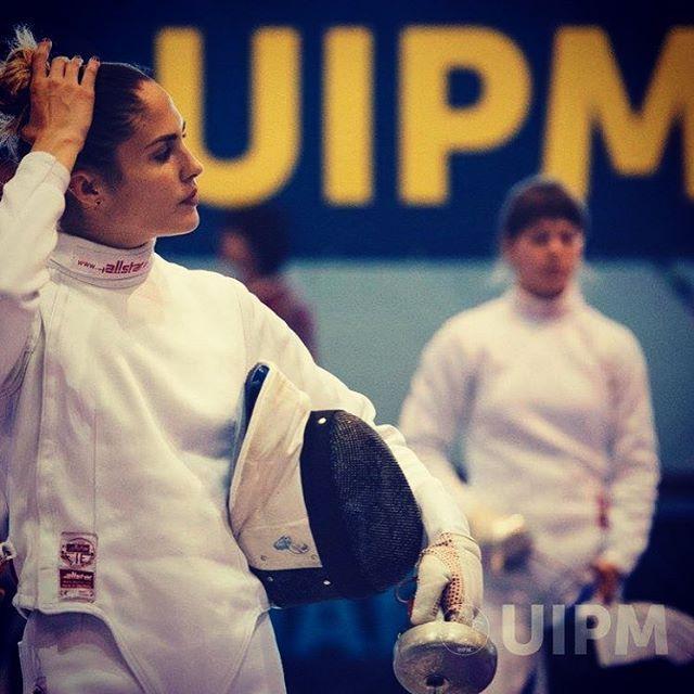 """506 Likes, 1 Comments - Elodie Clouvel Officiel (@elodieclouvel) on Instagram: """"Coupe du monde 🌎 #fencing #pentathlon #uipm @modern_pentathlon5.uipm"""""""