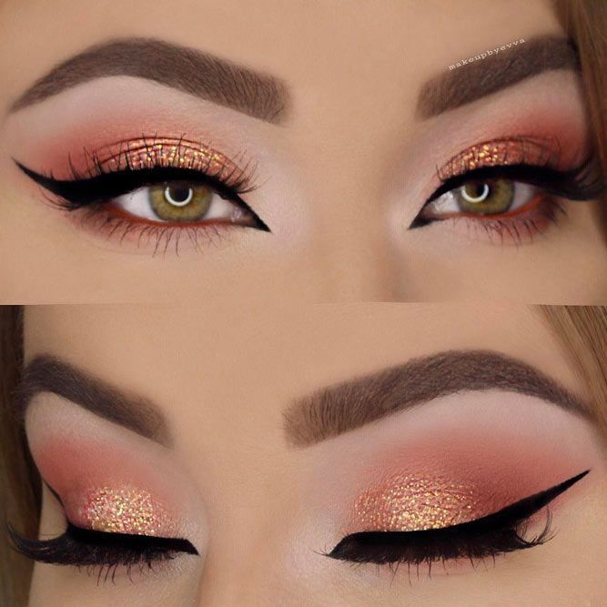 Insanely Beautiful Cat Eye Makeup Ideas ★ See more: https://makeupjournal.com/cat-eye-makeup-ideas/ #makeup #makeuplover #makeupjunkie