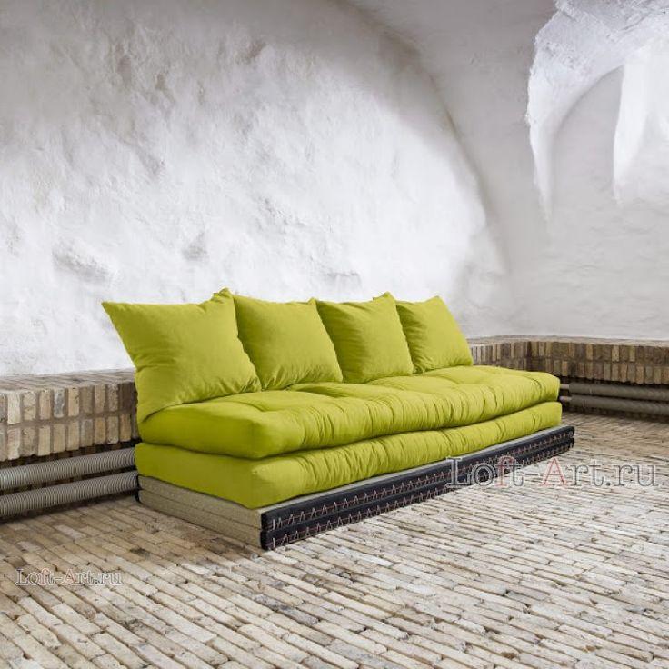 Диван-кровать CHICO PISTACIE - Футоны диваны - Диваны - Диваны и Кресла Loft Art