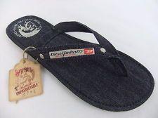 Diesel Flip-Flops Sandals Seaside SS13 Indigo / Denim Mens Designer Branded
