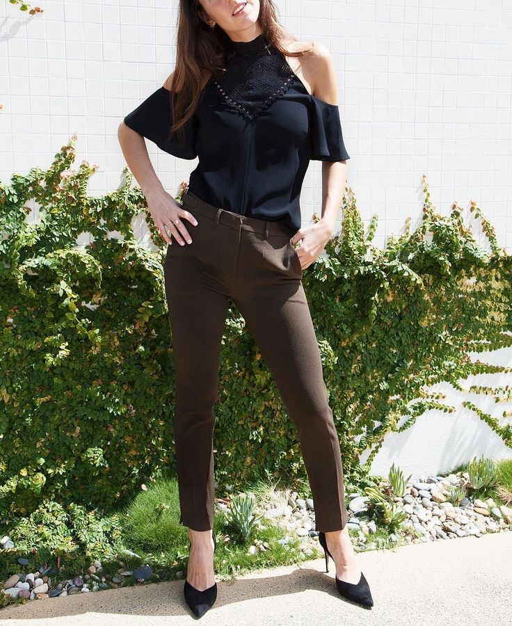 Makeover your work uniform with our #new @bashparis pants and @alc_ltd cold shoulder top  In store now. To purchase please call us on (07) 3252 8216