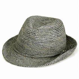 かわいいコンチョでお洒落ポイントアップ  ストローハット。ストローハット メンズ レディース ハット 中折れ 夏 ストロー 大きいサイズ あり ラフィアハット コンチョ付き ラフィア 麦わら帽子 送料無料 UV ベージュ(アウトドア フェス UV対策 海 メンズハット 中折れハット 中折れ帽子 男性 大きめ 紳士帽子 紫外線 ぼうし)