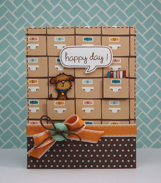 Lawn Fawn Dewey Decimal Petite Paper Pack; Stamps- A Birdie Told Me, Happy Everything, Critters in the Burbs