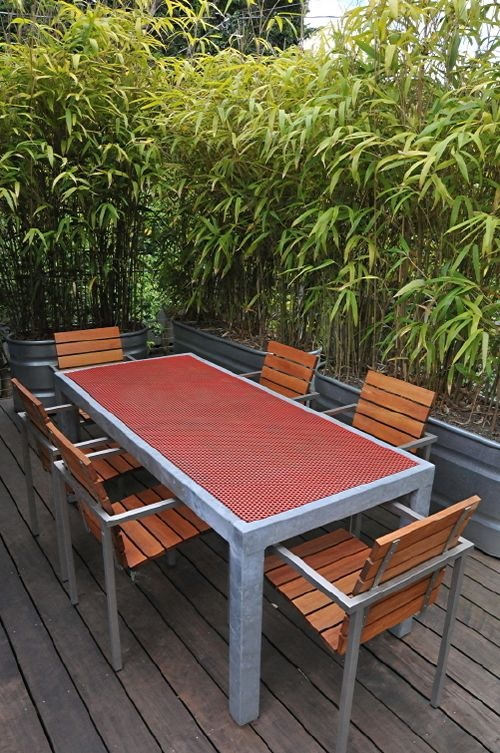 Bamboo In Containers Privacy Screen Patio Ideas Pinterest