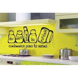 Vinilos Decorativos Adhesivos de Pared Cocina AQM1970