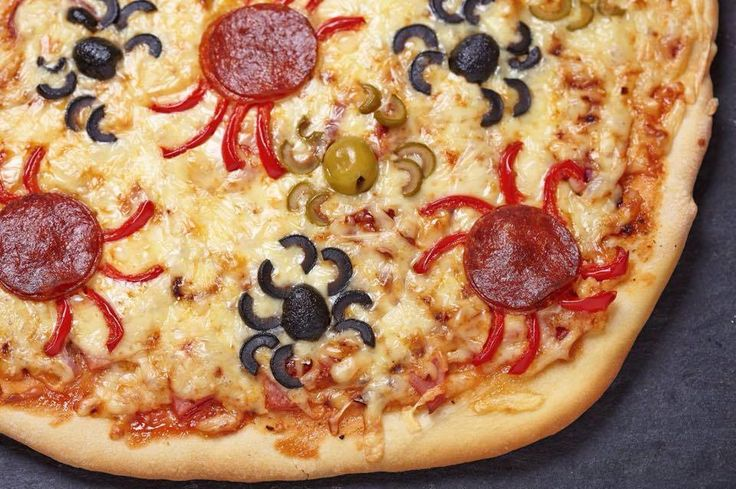 Halloween Pizza!!! :) https://www.facebook.com/foodgasmsrecipes?fref=photo
