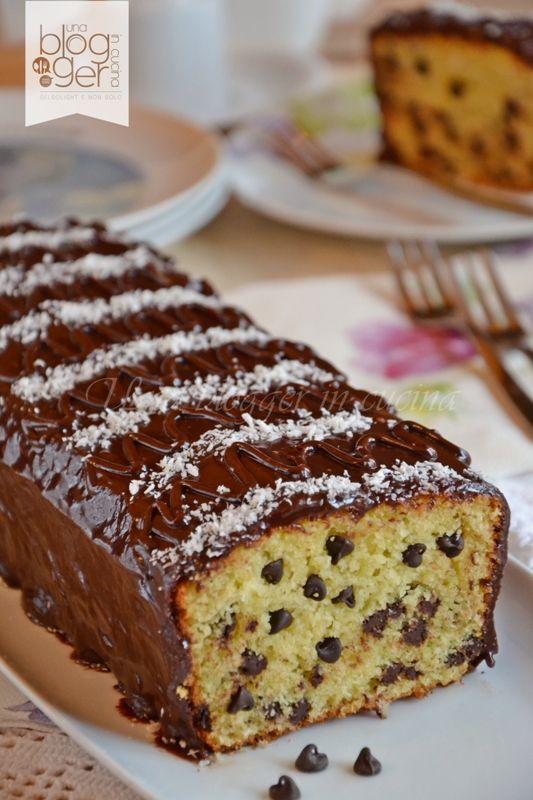 plumcake cocco e cioccolato (