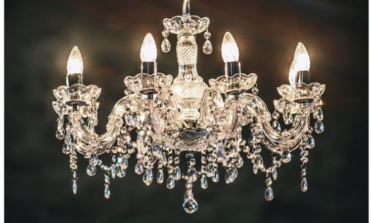 Crystal Chandelier - Large