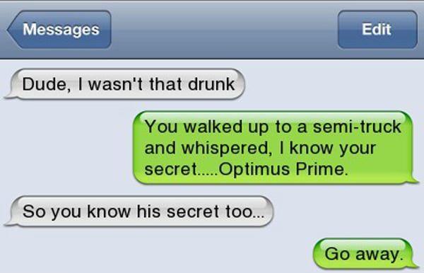 23 Drunk Text Fails