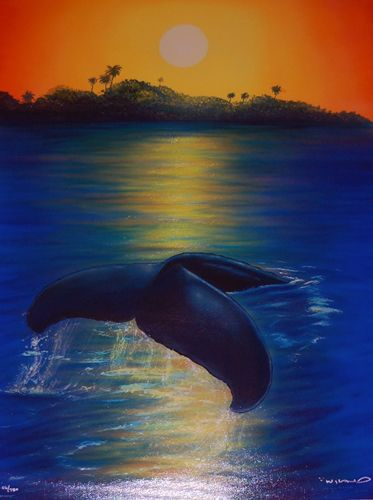 wyland prints | ... Dawn 2003 by Robert Wyland, Limited Edition Print, Giclee on Canvas