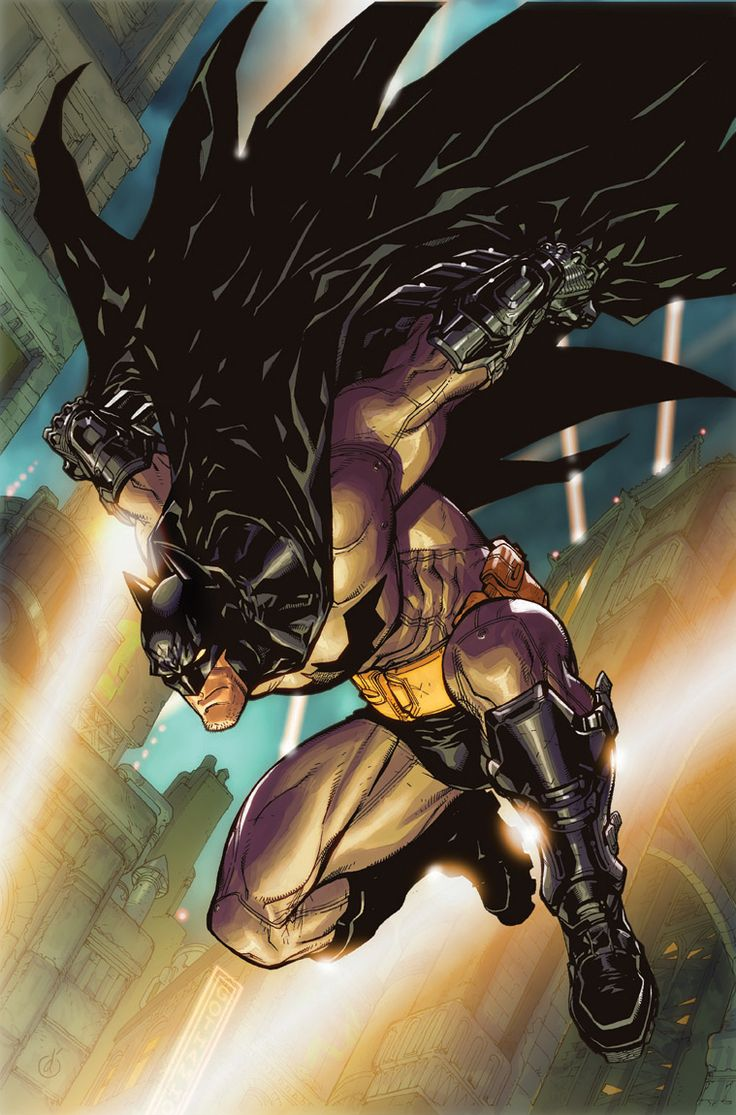 Batman: Arkham City #1 by Carlos D'Anda