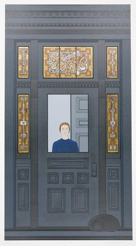Will Barnet (USA, 1911-2012) - The Doorway, 1998