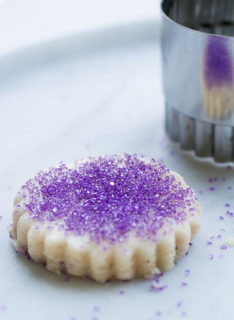 Lavender Shortbread Cookies, Ꮗ/Recipe~ | ediable flower recipes ...