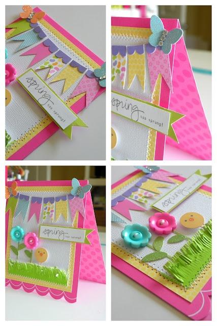 Hello Spring Card for Doodlebug By Stephanie Buice