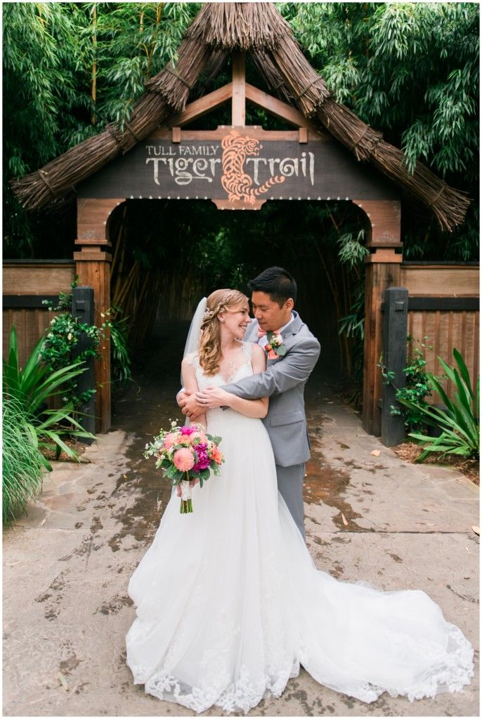 There truly is no wedding venue like the lush landscapes of the San Diego Zoo Safari Park.
