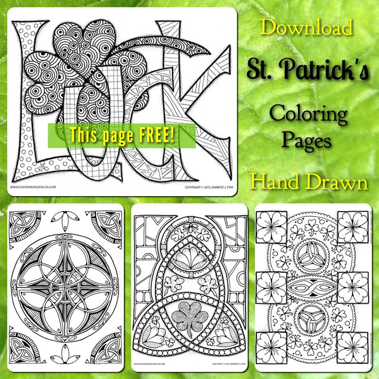 free coloring pages for adults st patricks day coloring pages available for a