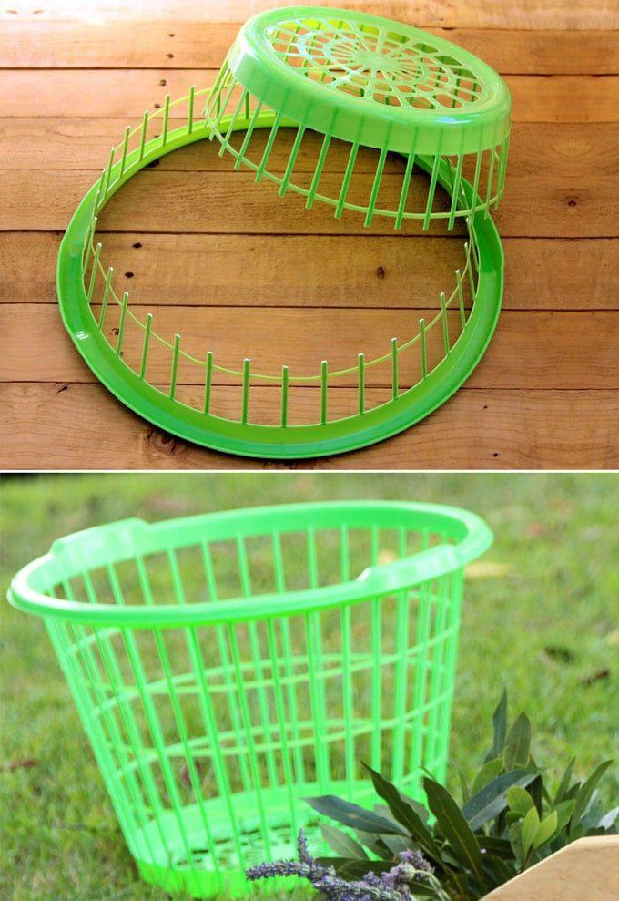 Dollar Laundry Basket Diy
