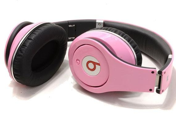 Monster beats solo HD headphones with control talk in pink  $169.00