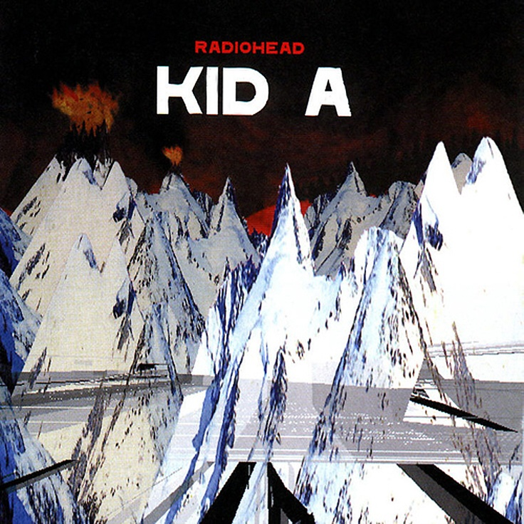"""Kid A - Radiohead. Weird futuristic-ness meets strangely human. Favorite track: """"Everything In It's Right Place"""""""