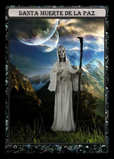 1000 images about santa muerte on pinterest santa muerte and angeles - Santa muerte signification ...