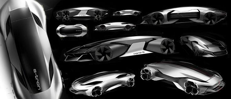AUDI autonomous sports on Behance