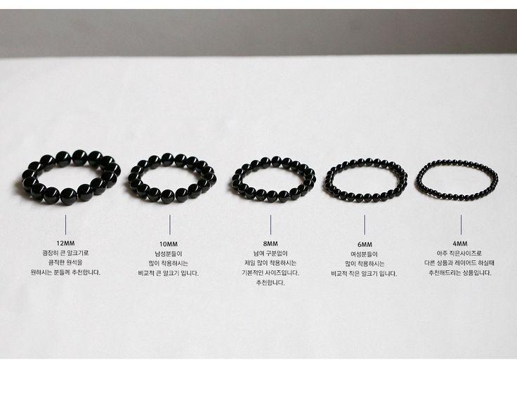 gemstone : onyx / size : 4mm, 6mm, 8mm, 10mm, 12mm