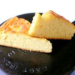 Cornbread I Allrecipes.com - Old Fashioned, Buttermilk Cornbread, Not sweet or cakey, no flour mixed in -- just basic good, country cornbread.