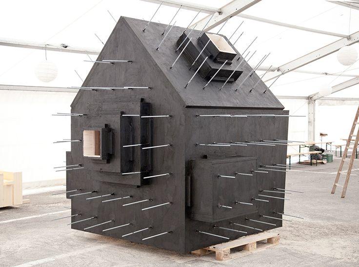 Trä gömt i betong av Bureau A, foto Dylan Perrenoud – http://www.tidningentra.se/notiser/trabumling #arkitektur i #trä