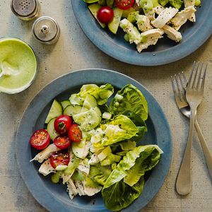 Green Goddess Salad with Chicken from @WebMD