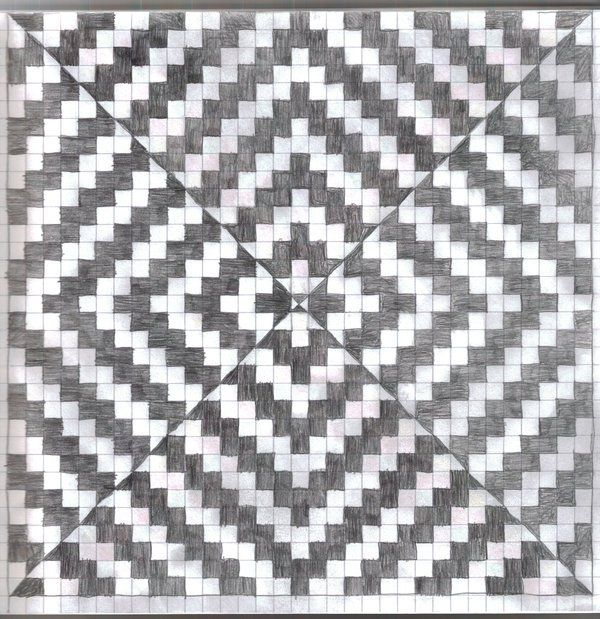 Graph Paper 3 Op Art Graph Paper Drawings Graph Paper Art