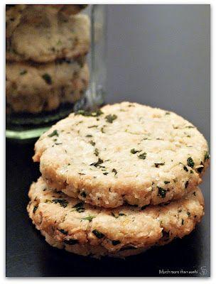Sablés citron et coriandre sans gluten - Much more than sushi - Vegan recipe - Recette végétalienne