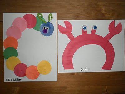 Caterpillar Letter C Preschool Alphabet Crafts Letter C Crafts