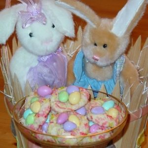 76 best cel easter recipes images on pinterest easter easter nest cookies recipe for a hoppy easter treat negle Choice Image