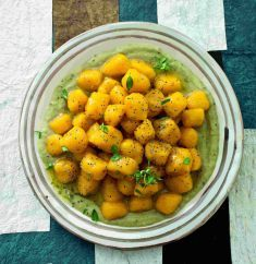Gnocchetti di zucca in salsa di finocchi, basilico e zenzero - Tutte le ricette dalla A alla Z - Cucina Naturale - Ricette, Menu, Diete