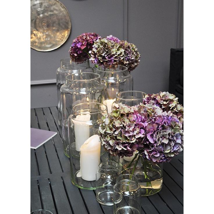 Glasvaser i olika storlekar från Tine K Home