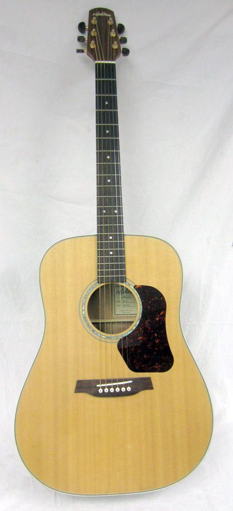 Walden Guitars D740 Natura Series Dreadnought 6-String Natural Acoustic Guitar