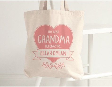 Personalised Mother's Day gifts // Tote bag designs