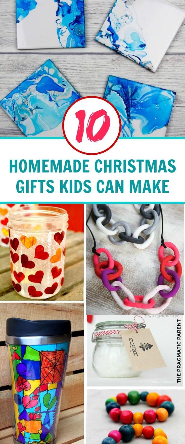Homemade Christmas Gifts Kids Can Make on their own. Beautiful Christmas Gifts Kids Can Make. Homemade Christmas Gifts. Gifts Kids Can Make at Home. #homemadechristmasgifts #homemadegifts #christmasgiftskidscanmake