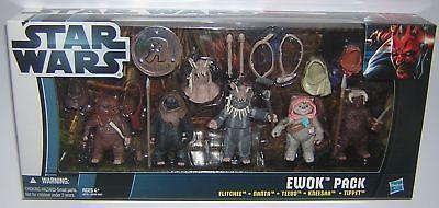 Star Wars Movie Heroes Ewok Battle Pack Toys R Us TRU Exclusive