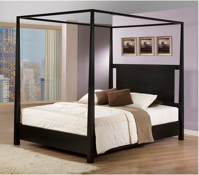 17 best ideas about queen size canopy bed on pinterest king size canopy bed metal canopy bed. Black Bedroom Furniture Sets. Home Design Ideas