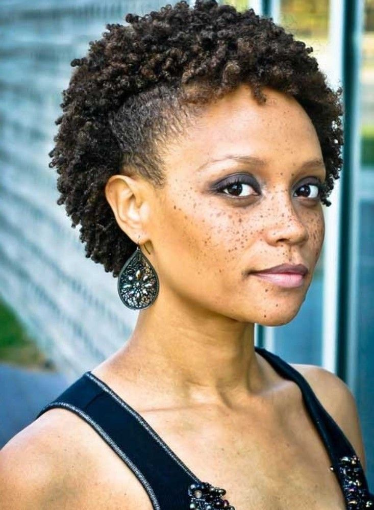 Short Natural Hairstyles For Black Women Over 40 Cute
