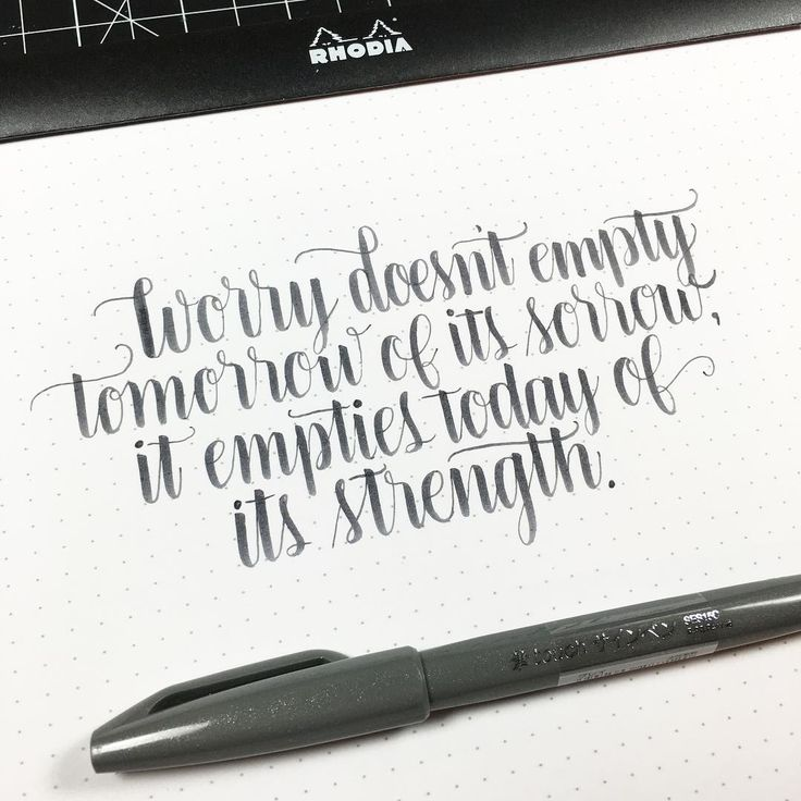 25 Unique Brush Markers Ideas On Pinterest Calligraphy